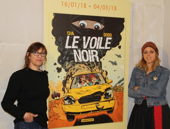 Le voile noir by Dodo and Cha - © Daniel Fouss / Comics Art Museum test