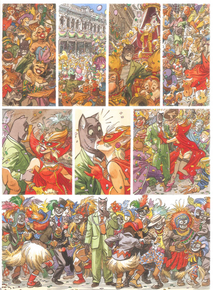 Juanjo Guarnido - © Blacksad, Juan Díaz Canales and Juanjo Guarnido, Dargaud Publishers test