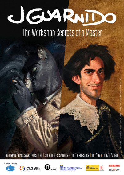 Juanjo Guarnido, The Workshop Secrets of a Master - POSTER EN -  test