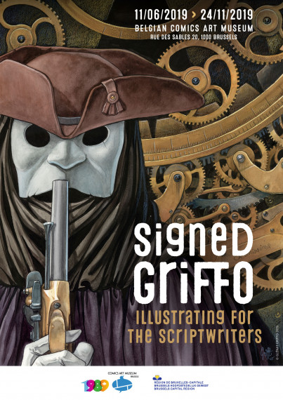 Signed Griffo - POSTER - Illustrating for the Scriptwriters test