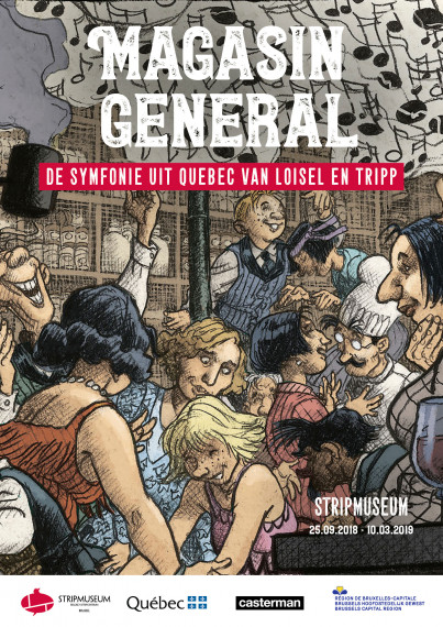 "Poster NL - ""Magasin Général, A Quebec Symphony by Loisel and Tripp"" test"