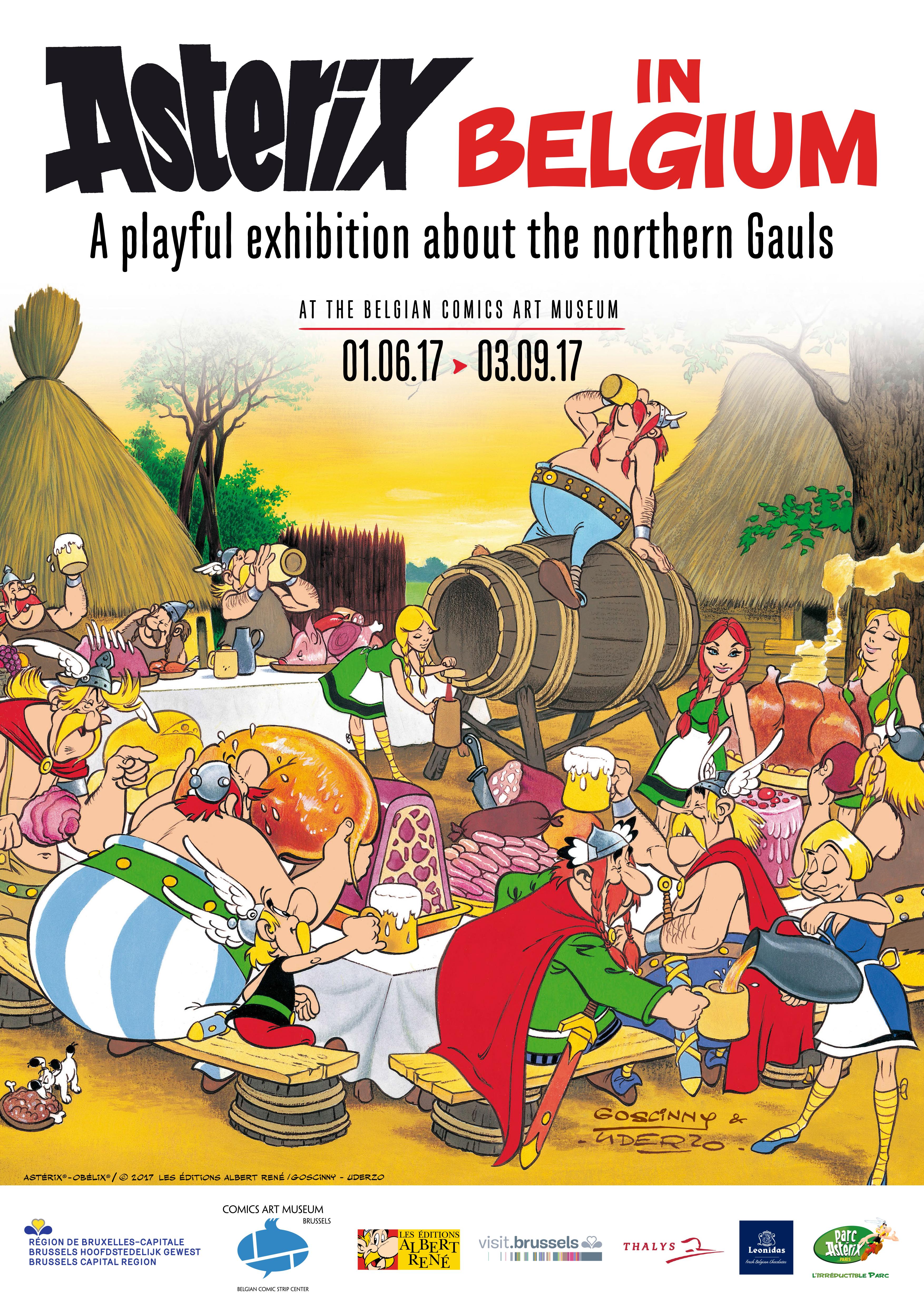 The great temporary exhibitions asterix in belgium the belgian asterix in altavistaventures Gallery