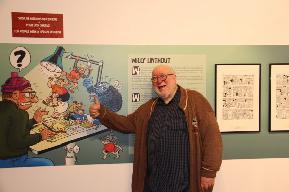 """Urbanus, The Underground Family Comic Strip"" - Willy Linthout - © Daniel Fouss/Comics Art Museum test"