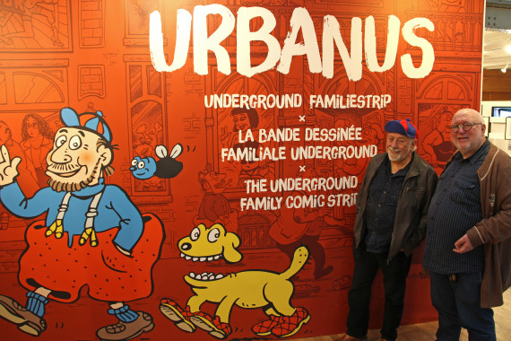 """Urbanus, The Underground Family Comic Strip"" - Urbanus and Willy Linthout - © Daniel Fouss/Comics Art Museum test"