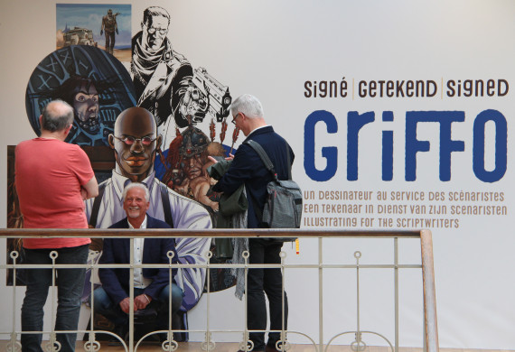 Griffo - © Daniel Fouss/Comics Art Museum test