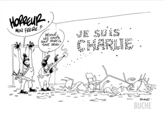 Tribute to Charlie Hebdo -  test