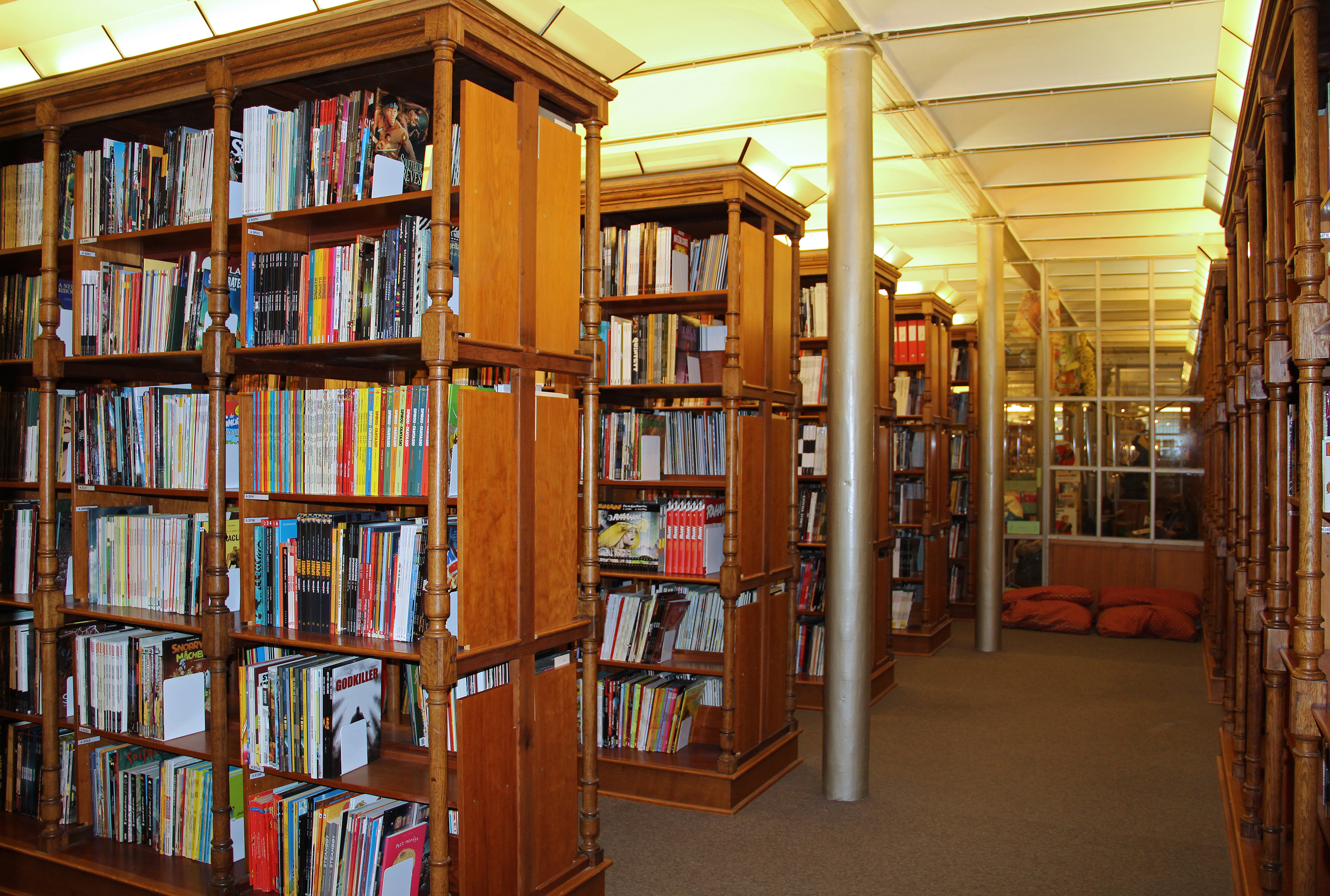 Libraries to study in brussels