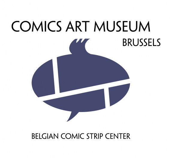 Logo Belgian Comic Strip Center -  test